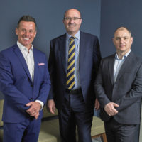 Brian Wright, Jonathan Hammond and Steve Pritchett. We are delighted to work with Hammond Property Services.