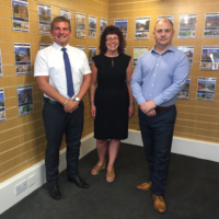 Chris Pick, Karen Fenton and Steve Pritchett. We are delighted to work with Alisdair Morrison and Partners