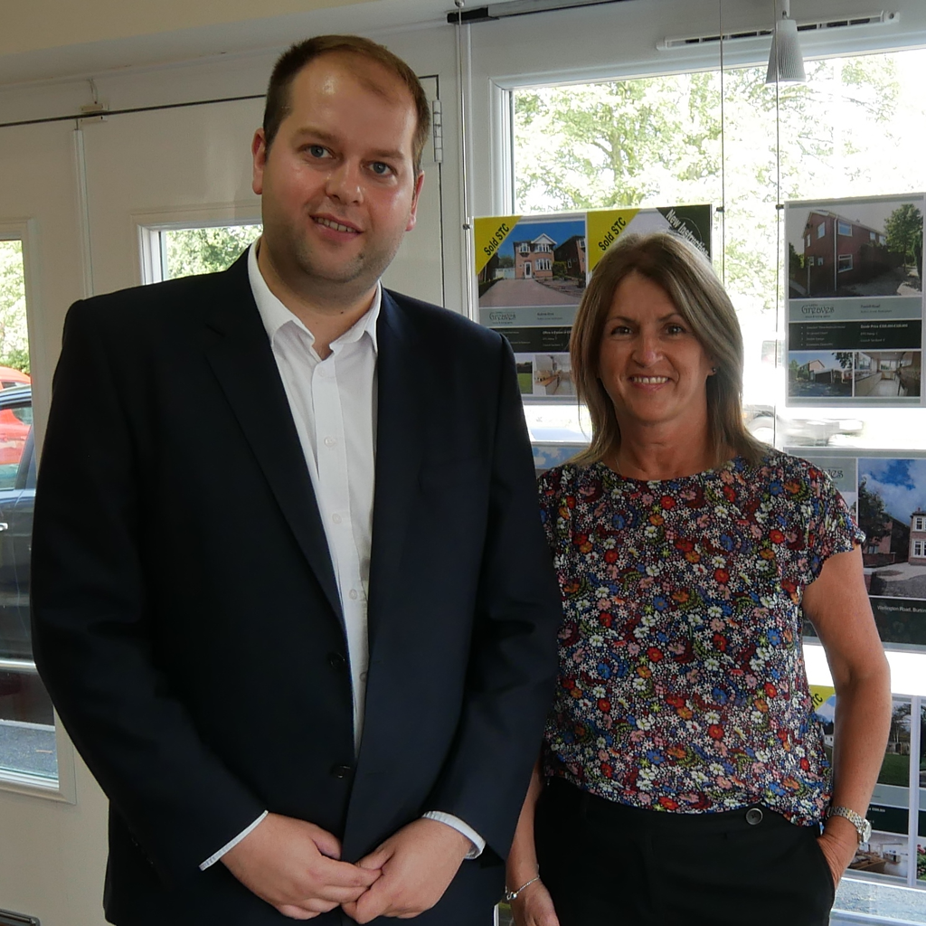 Thomas Bradley and Lesley Greaves. We are delighted to work with Lesley Greaves Estate Agents